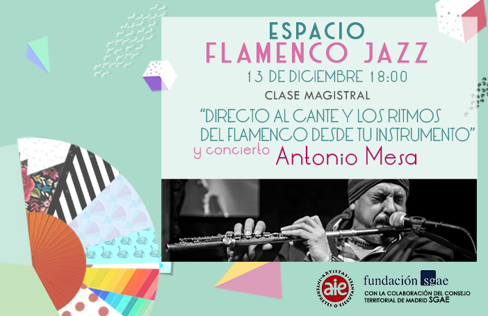 Ciclo Flamenco Jazz 2019 SLIDER Antonio Mesa